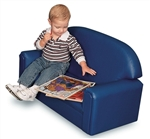 Toddler Vinyl Upholstery Sofa
